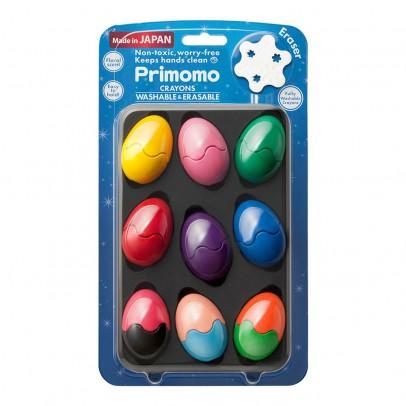 Primomo Washable Crayon Eggs - Set of 9-listing