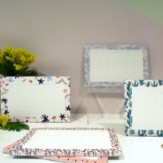 Season Paper Collection Semainier Patchwork-listing