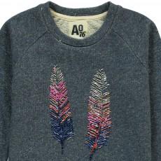 AO76 Sequin Feather Sweatshirt-listing