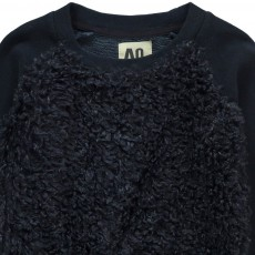 AO76 Curly Faux Fur Sweatshirt-listing