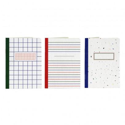 Papier Tigre Quaderno A6  Les 3 basiques  - Set da 3-listing