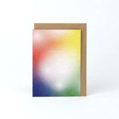 Papier Tigre Tarjeta con sobre A6 Rainbow-listing