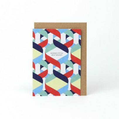 Papier Tigre Carte avec enveloppe A6 Vœux-listing
