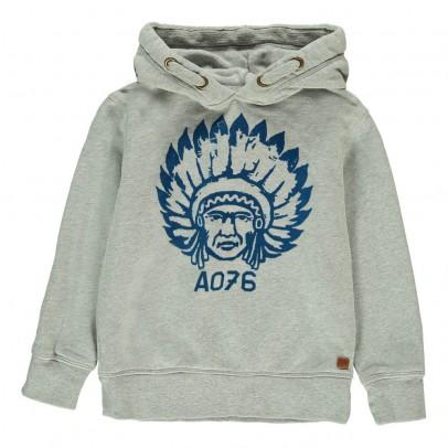 AO76 Hooded Indian Sweatshirt-listing