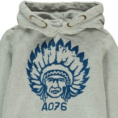 AO76 Sweat Capuche Indien-listing