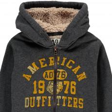 AO76 Lined Hooded Sweatshirt with Zip-listing