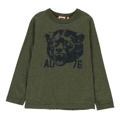 AO76 T-Shirt Tête Ours-listing