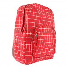 Bakker made with love Kotak Medium Check Canvas Backpack-listing