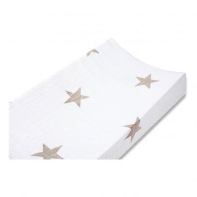 aden + anais  Funda de colchón de cambiado - Estrellas topo-listing