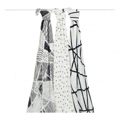 aden + anais  Fascia- plaid 120x120 cm  Bambou- Pacco da 3-listing