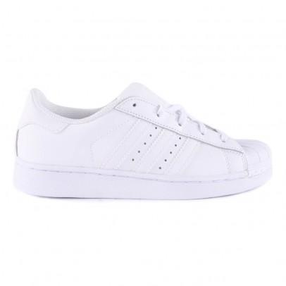Adidas Scarpe da Ginnastica in Pelle con Lacci Superstar-listing