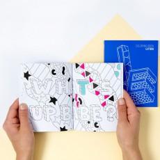 Omy Carnet à colorier - Letters-listing