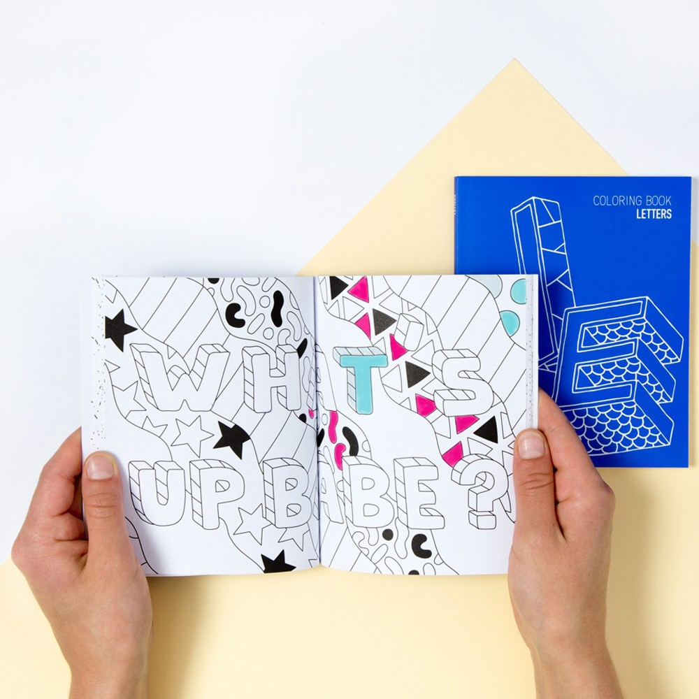 Letters - Colouring Book-product