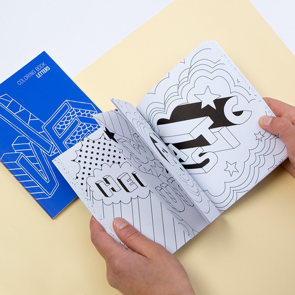 Omy Letters - Colouring Book-product