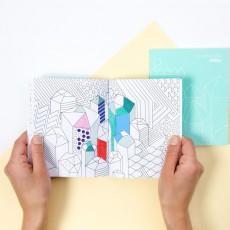 Omy Libreta para colorear - Mineral-product