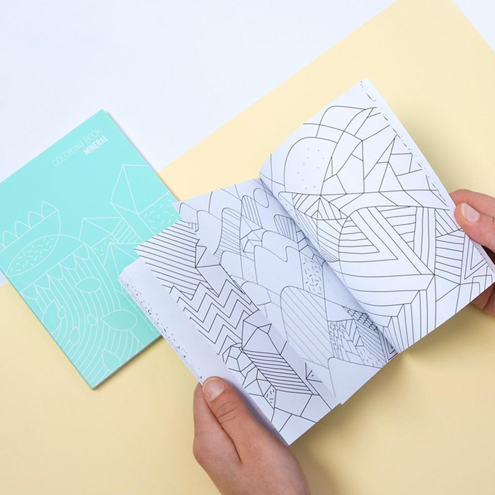 Libreta para colorear - Mineral-product