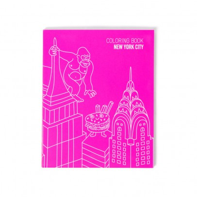 Omy Carnet à colorier - New-York City-product