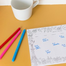 Omy Colouring Calendar-product