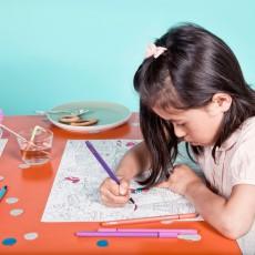 Omy Set de mesa para colorear City 2-listing