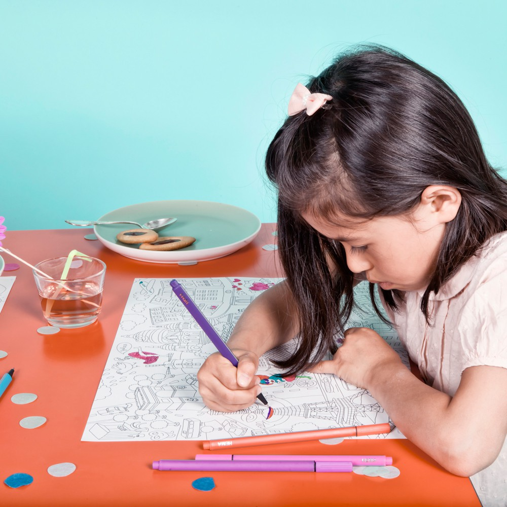 Omy City 2 Colouring Table Set-product