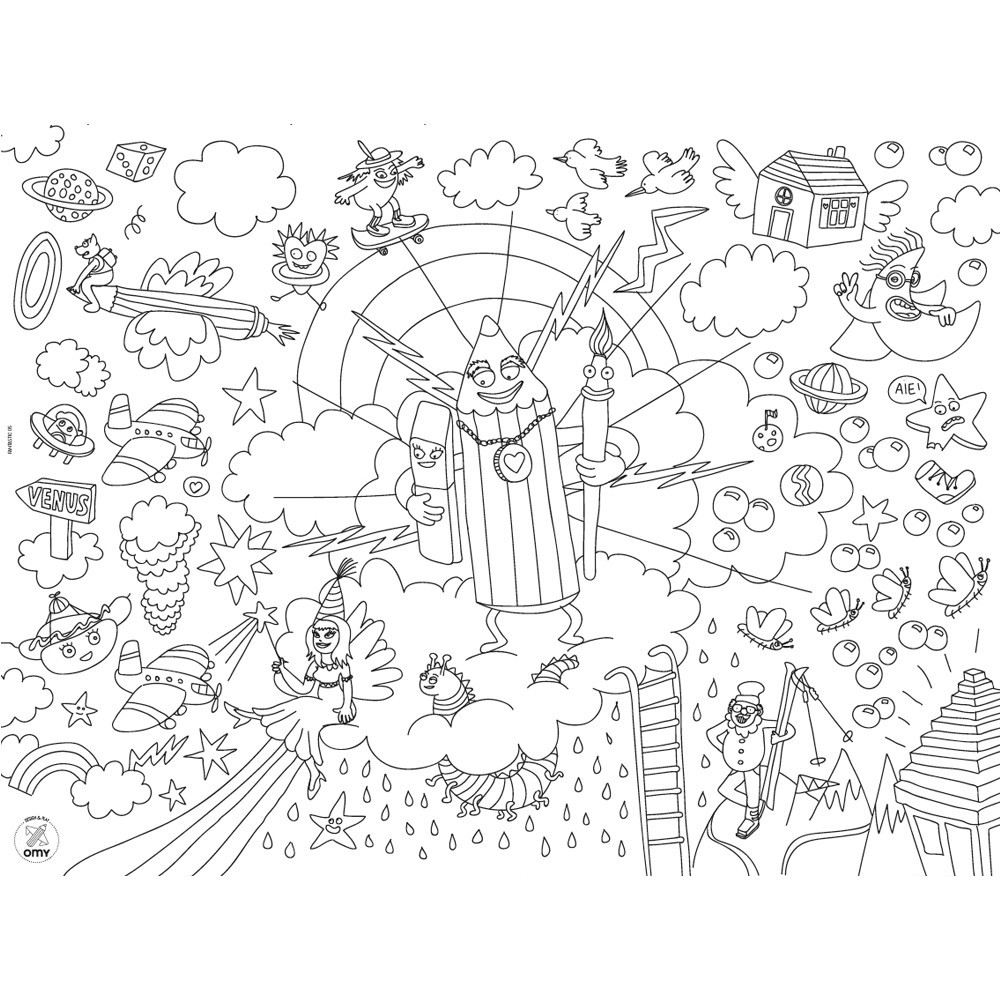 Fantastic Colouring Table Set-product