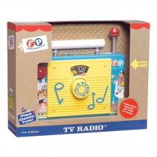 Fisher Price Vintage Radio TV - Reedición vintage-listing