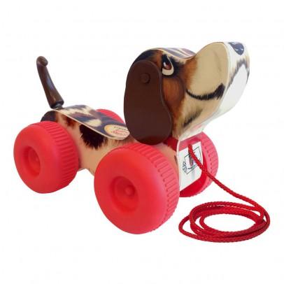 Fisher Price Vintage Nachzieh-Hund Snoopy-Neuausgabe Vintage-listing