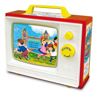 Fisher Price Vintage Televisione Musicale - Riedizione Vintage-listing
