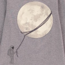 Il Gufo Phosphorescent Moon T-Shirt-listing
