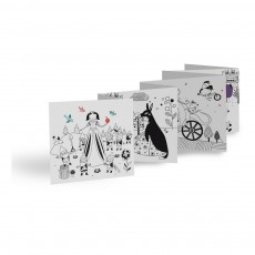 Mon Petit Art 12 Fairy Tales Colouring Book-listing