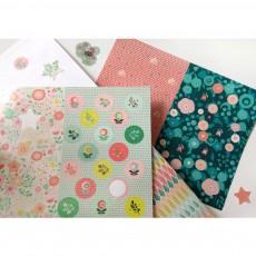 Mon Petit Art Floral Artist Stickers-listing