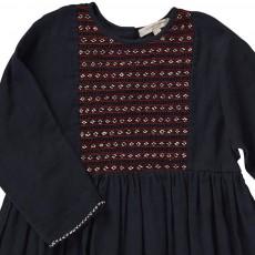 Caramel Baby & Child Malachite Embroidered Dress-listing