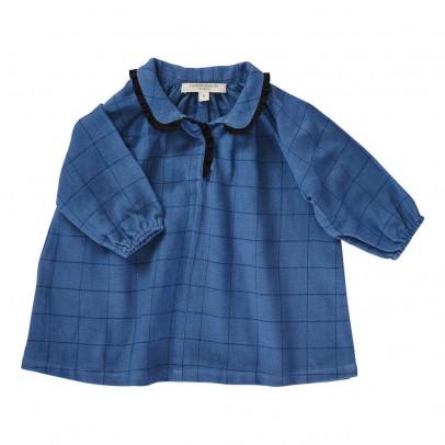 Caramel Baby & Child Baby Verdite Check Dress-listing