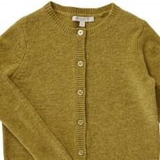 Caramel Andulasite Merino Wool Cardigan-product