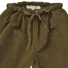 Caramel Baby & Child Baby Carnelian Velvet Trousers-listing