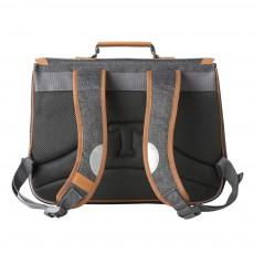Tann's 38 cm Flecked Grey Classic Schoolbag-listing