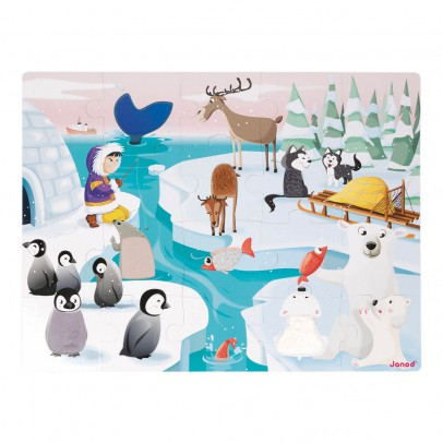 Janod Life On Ice Touch & Feel Puzzle-product