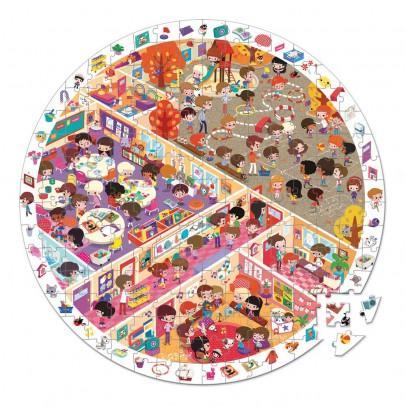 Janod Puzzle observation Vive l'école-listing