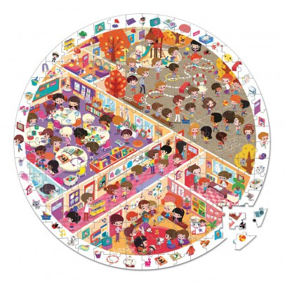 Janod School Life Observation Puzzle-listing