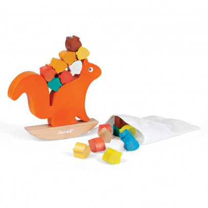 Janod Squirrel Stacking Game-listing