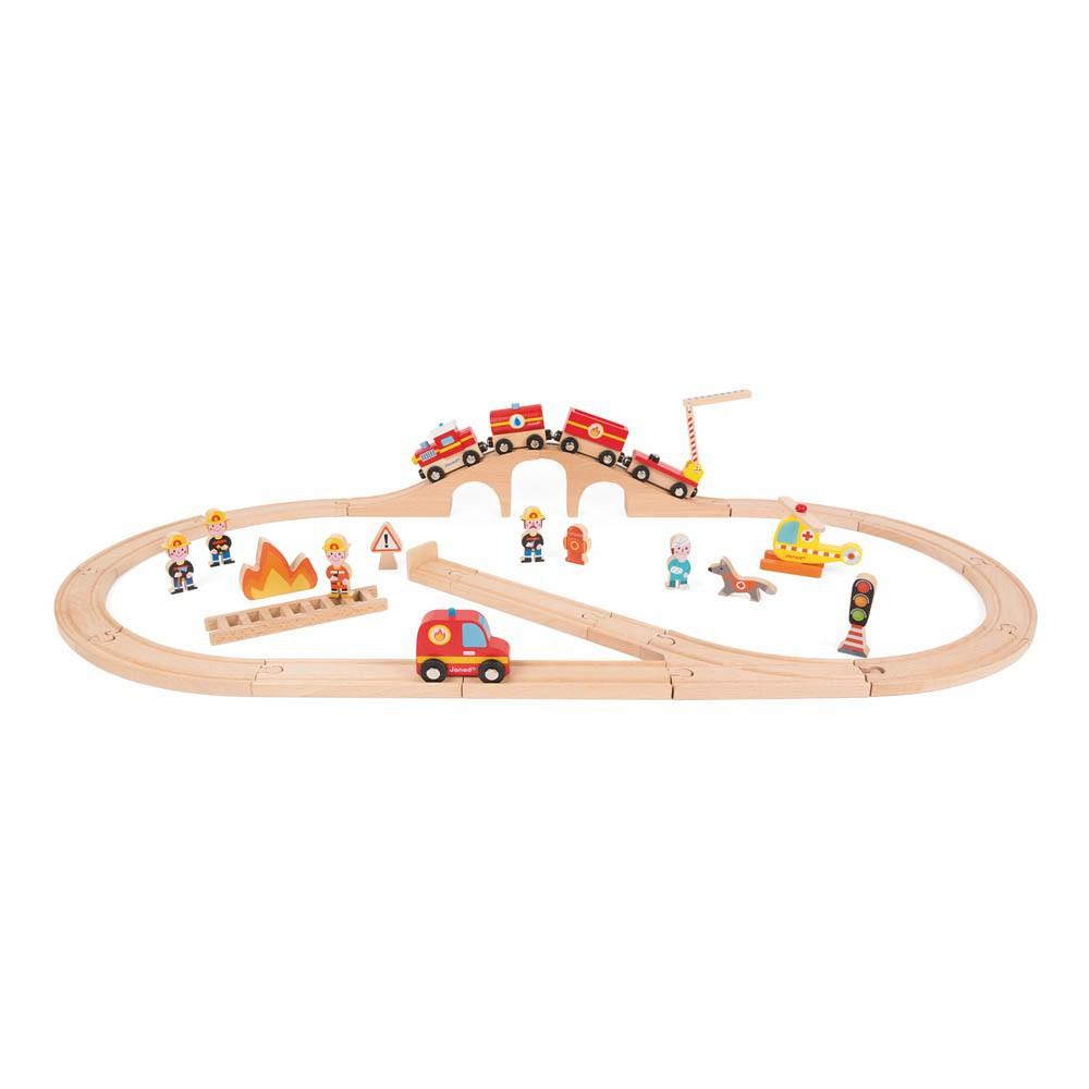 Janod Firemen Express Train-product