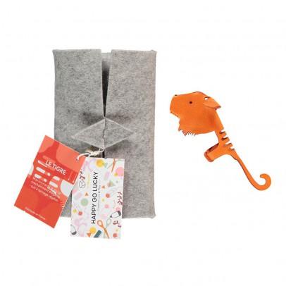 Happy Go Lucky Marionnette à doigt en cuir Tigre-listing