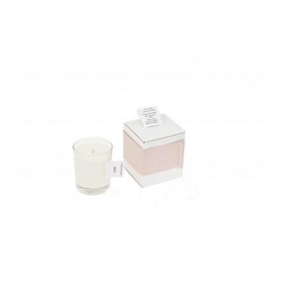Cousu de fil blanc Ambrette Scented Rose Wood Candle 75g-listing