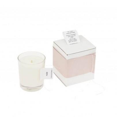 Cousu de fil blanc Ambrette Scented Rose Wood Candle 180g-listing