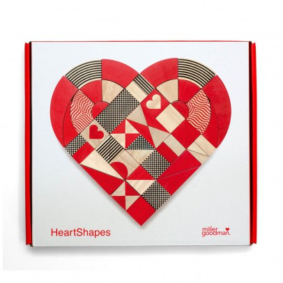 Miller Goodman Heart Shapes-listing