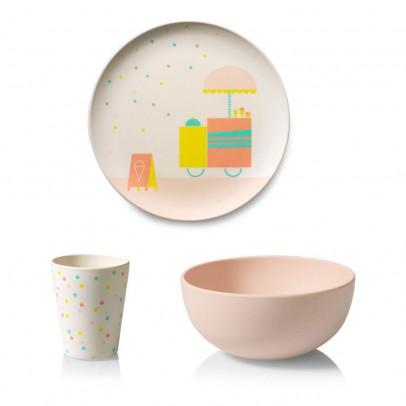 Engel Bamboo Ice Cream Dish Set-listing