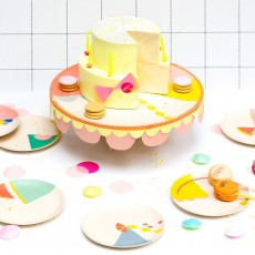 Engel Assiettes à dessert Motifs en bambou - Set de 6-listing