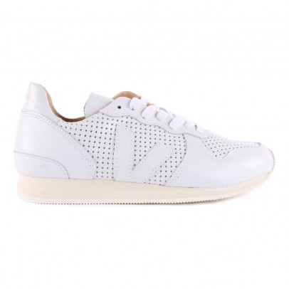 Veja Baskets Cuir Perforé Holiday Bastille-listing