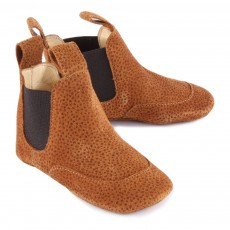 Angulus Fantasia Suede Chelsea Slippers-listing