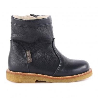 Angulus Boots Cuir Fourrées et Zippées Tex-listing
